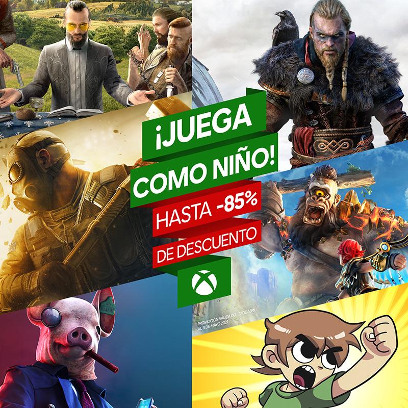 Ubisoft descuentos abril Xbox