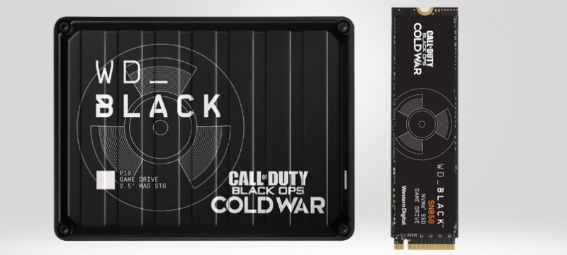 WD_BLACK Call of Duty Black Ops Cold War