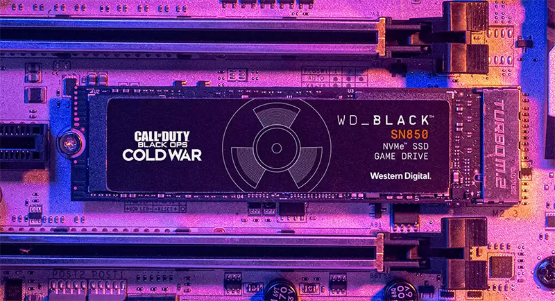 WD_BLACK Call of Duty Black Ops Cold War Special Edition SN850 NVMe SSD