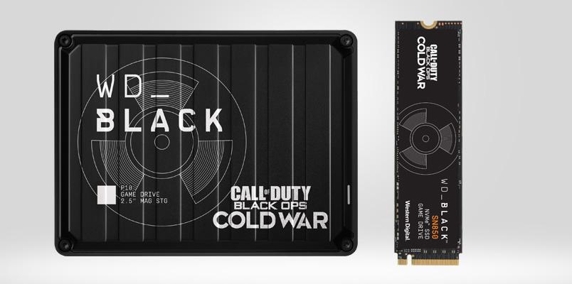 WD_BLACK de Call of Duty llegarán a estas tiendas de México