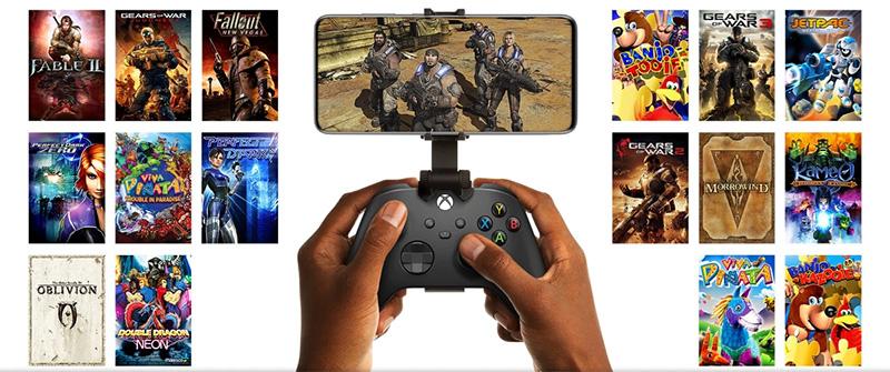 Xbox Cloud Gaming 16 juegos clasicos