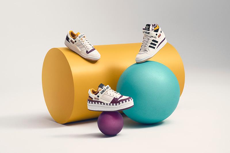 adidas Originals x Girls Are Awesome siluetas