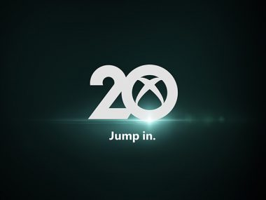 20 aniversario Xbox logo