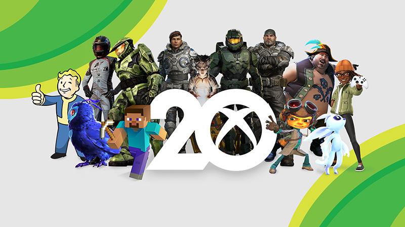 20 aniversario Xbox personajes