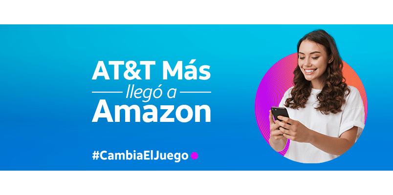 AT&T México estrena nueva tienda oficial en Amazon.com.mx