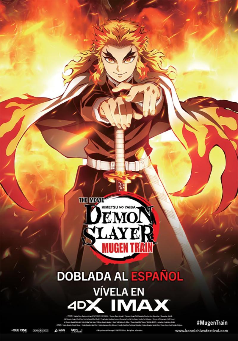 Demon Slayer Mugen Train poster IMAX