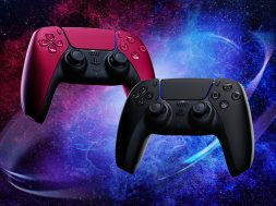 DualSense PS5 Midnight Black and Cosmic Red