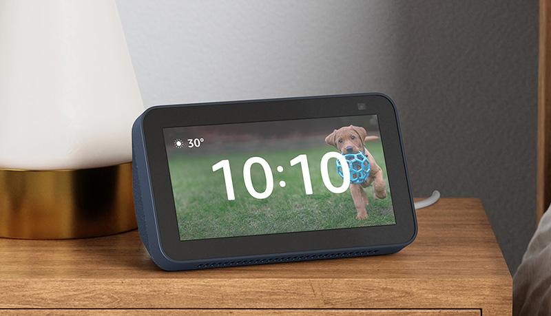 Echo Show 5 2021 reloj