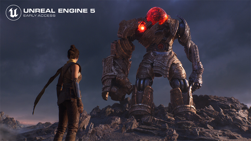 AMD da todo el apoyo a Unreal Engine 5 de Epic Games