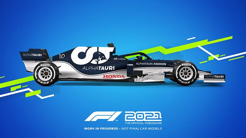 F1 2021 AlphaTauri