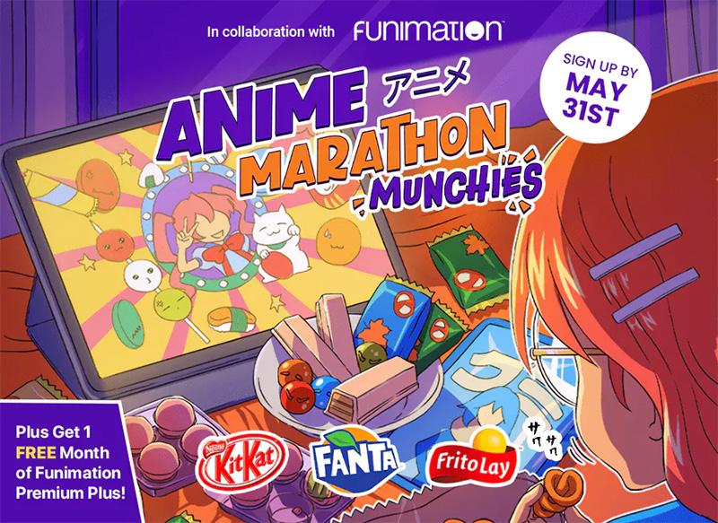 Funimation X TokyoTreat Anime Marathon Munchies