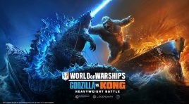 Todo listo para el evento de Godzilla vs Kong en World of Warships