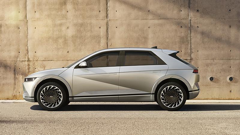 Hyundai IONIQ 5 2021 lado