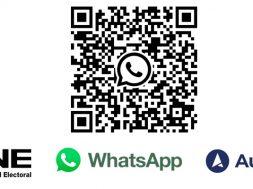 INE Elecciones 2021 WhatsApp