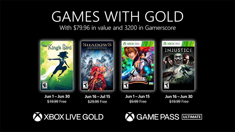 Injustice Gods Among Us Games with Gold junio 2021