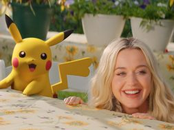 Katy Perry y Pikachu