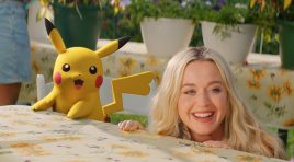Katy Perry y Pikachu las estrellas del nuevo video musical Electric