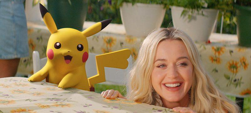 Katy Perry y Pikachu