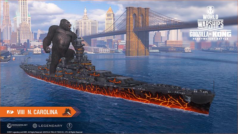 Kong Carolina World of Warships
