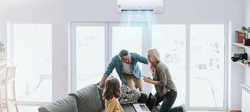 LG HVAC hogar salud