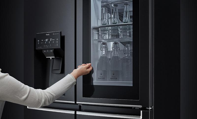 LG InstaView Door-In-Door 2021 Knock