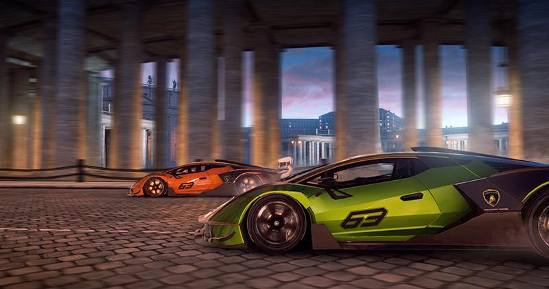 Lamborghini Essenza SCV12 en Asphalt 9 Legends gratis