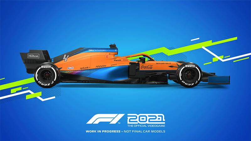 McLaren F1 Team Lando Norris F1 2021