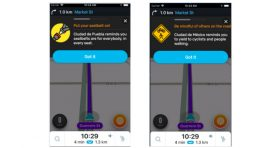 Waze presenta los mensajes de seguridad de Waze for Cities