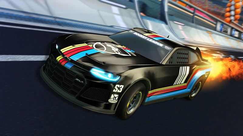 NASCAR 2021 Fan Pack Rocket League Camaro