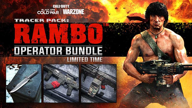 Rambo paquete Cold War Warzone