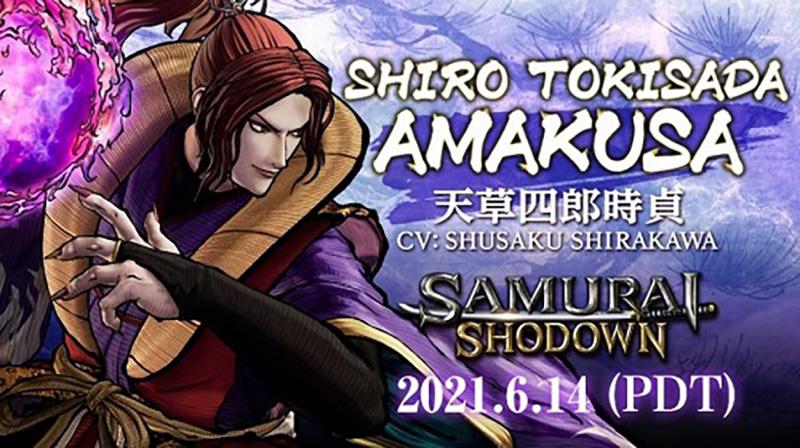 Shiro Tokisada Amakusa Samurai Shodown 2021