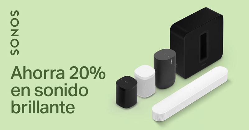 Sonos 20 por ciento descuento Hot Sale 2021