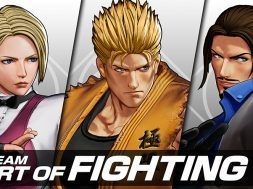 Team Art of Fighting The King of Fighters XV