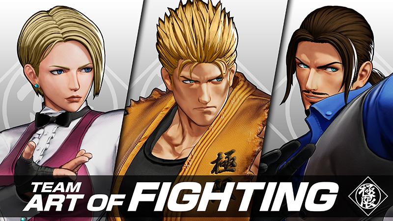 Conoce al Team Art of Fighting que verás en The King of Fighters XV