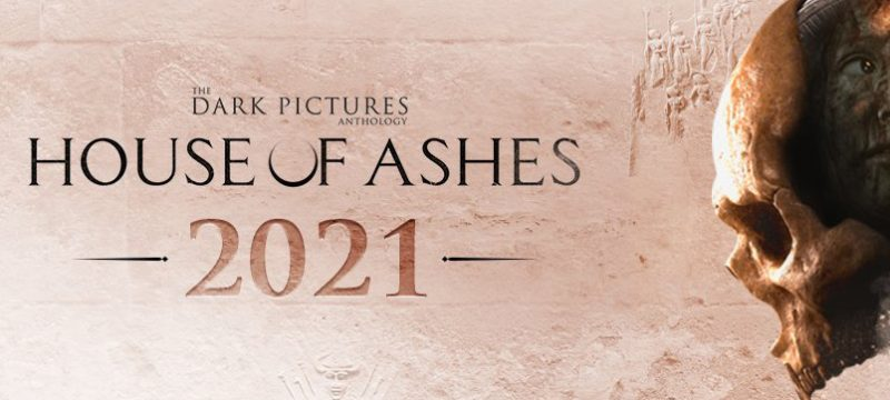 The Dark Pictures Anthology House of Ashes logo 2021