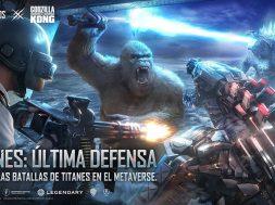Titanes ultima defensa Godzilla vs Kong en PUBG MOBILE