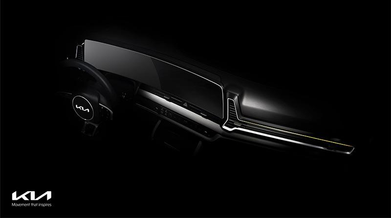 Totalmente nuevo KIA Sportage teaser interior