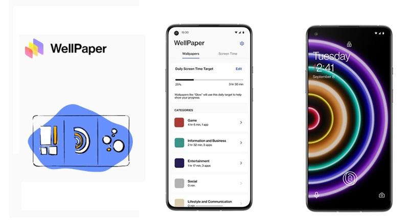 Con WellPaper sabrás en qué aplicación pasas más tiempo de tu día