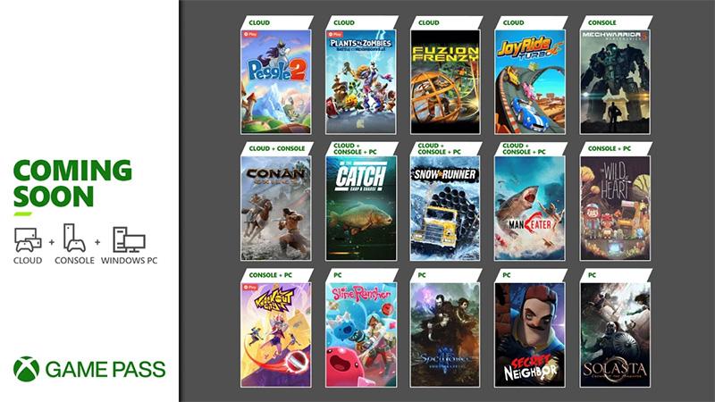 Xbox Game Pass 20 mayo 2021