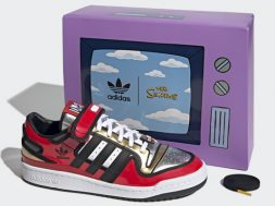 adidas Originals FORUM LO SIMPSONS DUFF BEER caja