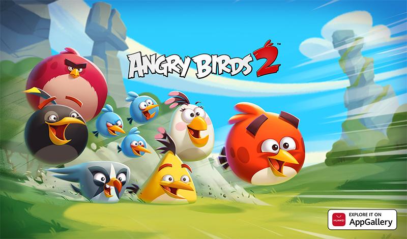 Angry Birds 2 ya está disponible para los usuarios de AppGallery