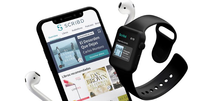 Apple Watch Scribd