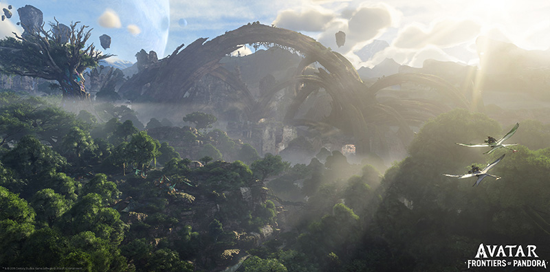 Avatar Frontiers of Pandora vista
