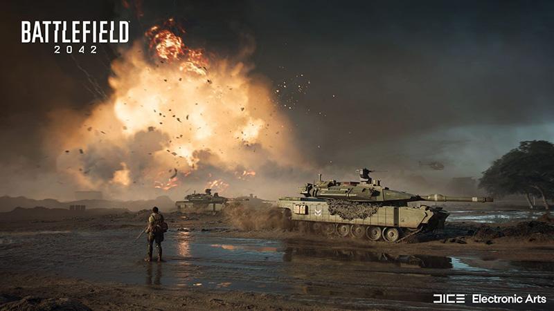 Battlefield 2042 presentacion EA