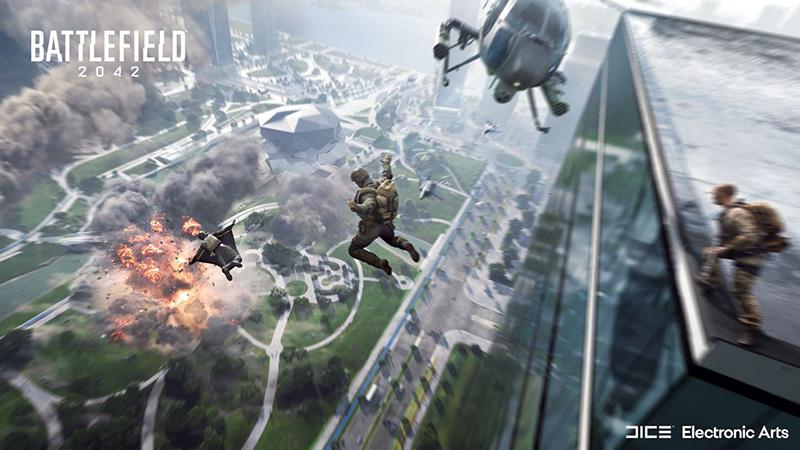 Battlefield 2042 sky