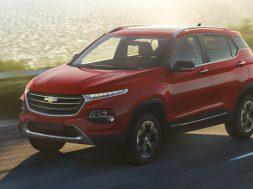 Chevrolet Groove 2022 frontal rojo