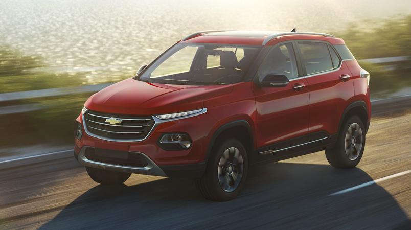 El nuevo SUV compacto Chevrolet Groove 2022 llegará a México