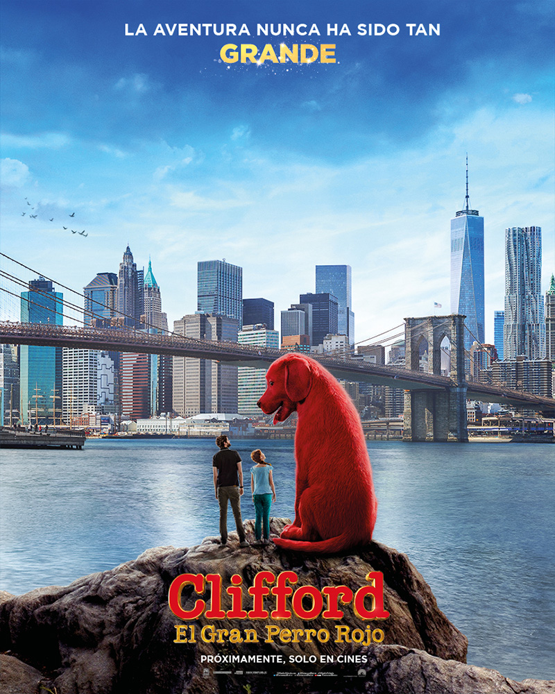 Clifford el Gran Perro Rojo poster 1