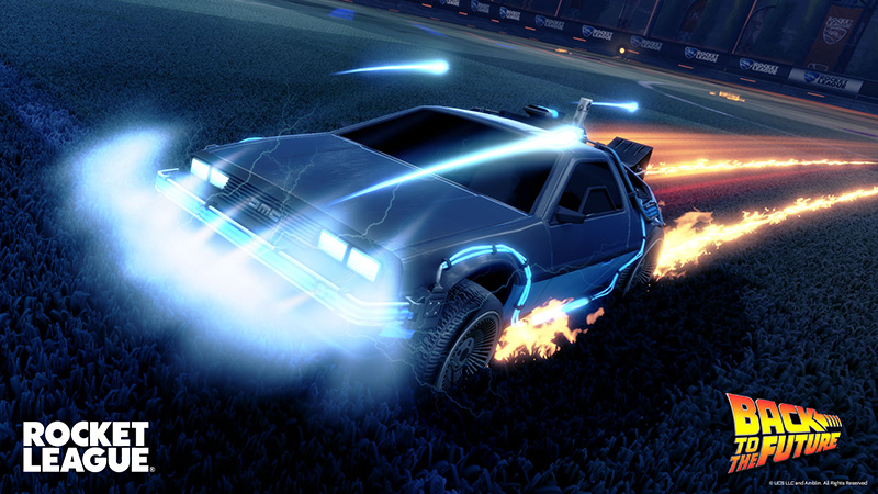 DeLorean-Time-Machine-Rocket-League