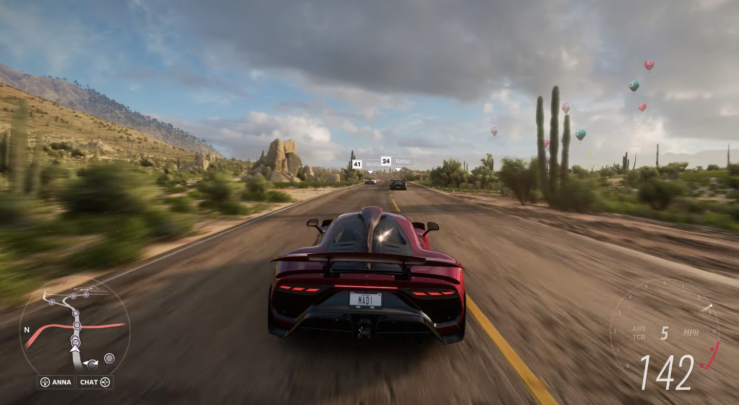Demo Forza Horizon 5 Mercedes-AMG Project ONE